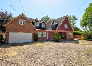 Thumbnail 4 bed detached house for sale in Enborne Row, Wash Water, Newbury
