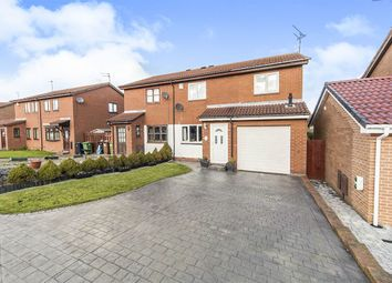 Thumbnail 4 bedroom semi-detached house for sale in Regency Drive, Sunderland