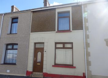 Thumbnail 2 bed terraced house for sale in Bigyn Park Terrace, Llanelli