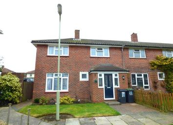 Thumbnail 3 bed end terrace house for sale in Tichborne Way, Gosport