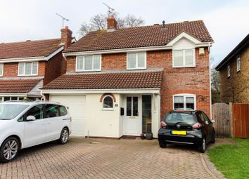 Thumbnail 4 bedroom detached house for sale in Turnstone Close, Wokingham