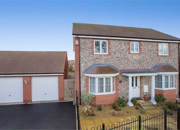 Thumbnail 4 bedroom detached house for sale in Larkspur Drive, Highweek, Newton Abbot, Devon.