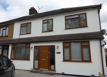 Thumbnail 4 bed semi-detached house for sale in Church Road, Ramsden Bellhouse, Billericay