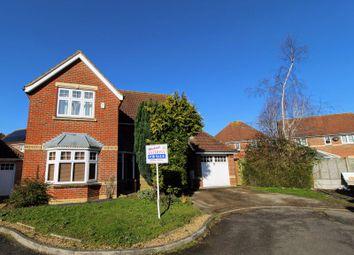 Thumbnail 4 bed detached house for sale in Hartdames, Shenley Brook End, Milton Keynes