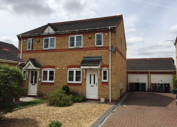 Thumbnail 2 bedroom semi-detached house for sale in Knights Mews, Peterborough