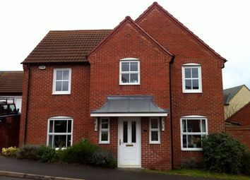 Thumbnail 4 bed detached house to rent in Mendip Close, Berry Hill, Mansfield