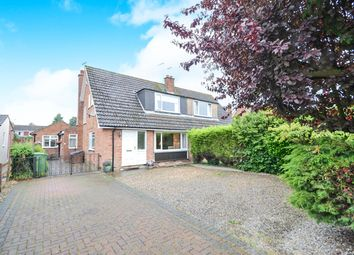 Thumbnail 4 bed semi-detached bungalow for sale in The Ruddings, Wheldrake, York