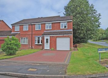 Thumbnail 4 bed semi-detached house for sale in Spetchley Close, Crabbs Cross, Redditch