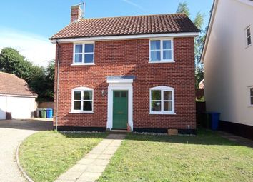 Thumbnail 3 bedroom detached house to rent in Rectory Green, Halesworth