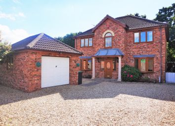 Thumbnail 4 bed detached house for sale in Ascot Way, North Hykeham