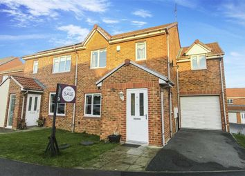 Thumbnail 4 bedroom semi-detached house for sale in Coquet Gardens, Wallsend, Tyne And Wear