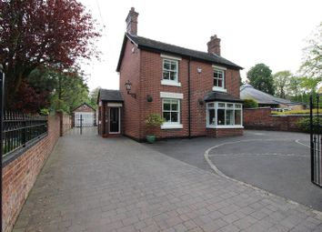 Thumbnail 4 bed detached house for sale in Station Road, Endon, Staffordshire