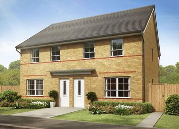 """Thumbnail 3 bedroom semi-detached house for sale in """"Maidstone"""" at Hebron Avenue, Pegswood, Morpeth"""