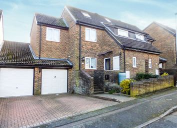 Thumbnail 5 bed semi-detached house for sale in Lapwing Rise, Stevenage