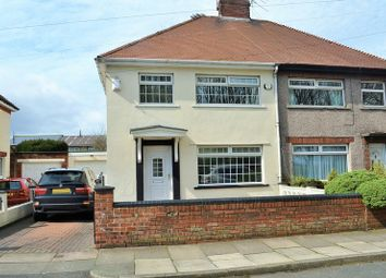 Thumbnail 3 bedroom semi-detached house for sale in Boundary Road, Litherland, Liverpool