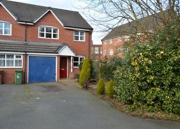 Thumbnail 3 bed semi-detached house for sale in Laxey Close, Chadderton, Oldham