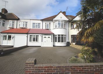 Thumbnail 4 bed terraced house to rent in Wensleydale Avenue, Clayhall, Ilford