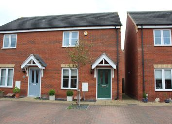 Thumbnail 2 bed semi-detached house for sale in Whitby Avenue, Eye, Peterborough