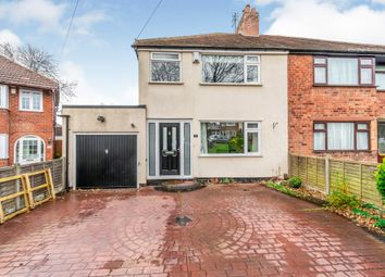 Thumbnail 3 bed semi-detached house for sale in St Catherines Crescent, Penn, Wolverhampton