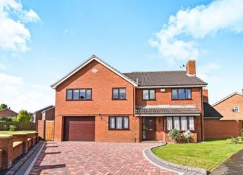 Thumbnail 5 bedroom detached house for sale in Marrick, Wilnecote, Tamworth, Staffordshire