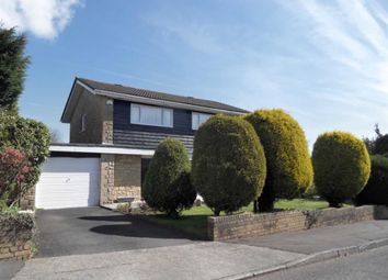 Thumbnail 4 bed detached house for sale in Coed Mor, Swansea