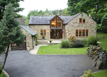 Thumbnail 4 bed detached house for sale in Church Road, Uppermill Oldham, Lancashire