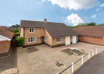 Thumbnail 4 bed detached bungalow for sale in The Fairways, Rushmere St. Andrew, Ipswich
