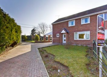Thumbnail 3 bedroom semi-detached house for sale in Hillside, Marham, King's Lynn