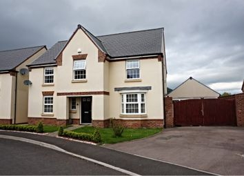 Thumbnail 4 bed detached house for sale in James Jones Close, Abergavenny