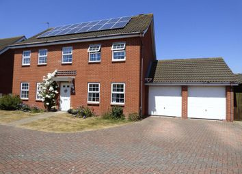 Thumbnail 4 bed detached house for sale in Curie Drive, Gorleston, Great Yarmouth
