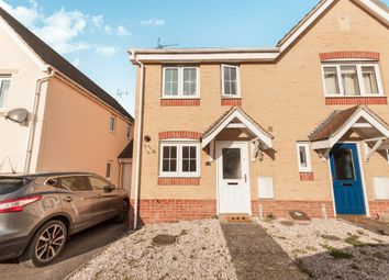 Thumbnail 2 bed semi-detached house for sale in Draper Way, Leighton Buzzard