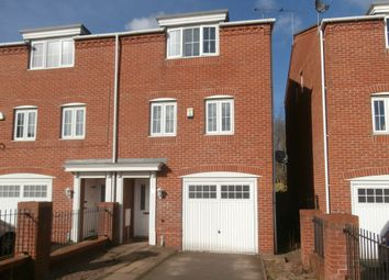 Thumbnail 4 bed town house to rent in Deans Gate, Willenhall