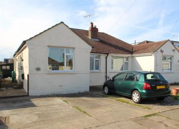 Thumbnail 4 bed semi-detached bungalow for sale in Abbey Road, Sompting, West Sussex