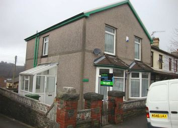 Thumbnail 4 bed end terrace house to rent in The Avenue, Pontypridd