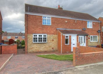 Thumbnail 2 bed semi-detached house to rent in Broome Road, Carville, Durham