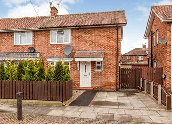 Thumbnail 2 bed semi-detached house for sale in Eden Crescent, Darlington, Durham
