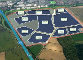 Thumbnail Land to let in Gateway Park, Peterborough