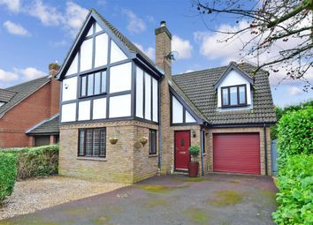Thumbnail 5 bed detached house for sale in Lambourne Drive, Kings Hill, West Malling, Kent
