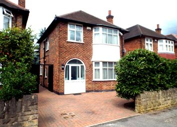 Thumbnail 3 bed detached house to rent in Heckington Drive, Wollaton, Nottingham.