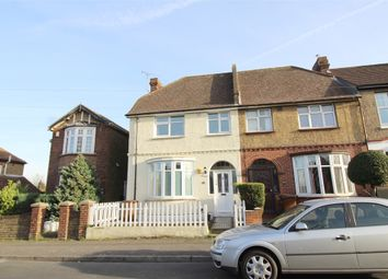 Thumbnail 3 bed end terrace house for sale in Second Avenue, Gillingham, Kent.