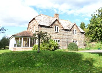Thumbnail 4 bedroom detached house to rent in Tarrant Monkton, Blandford Forum, Dorset