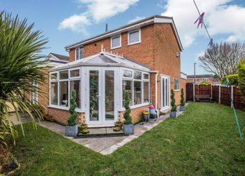 Thumbnail 3 bed detached house for sale in Birchwood, Leyland, Lancashire