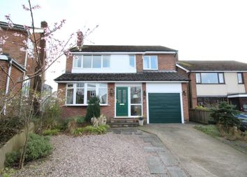 Thumbnail 4 bed detached house for sale in Ribblesdale Avenue, Congleton