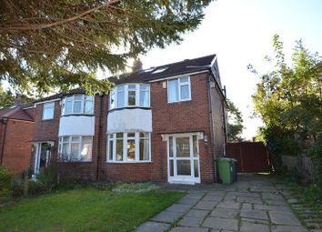 Thumbnail 4 bed semi-detached house for sale in Gledhow Park Avenue, Chapel Allerton, Leeds