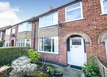3 bed terraced house for sale in Mill Lane, York, North Yorkshire YO31