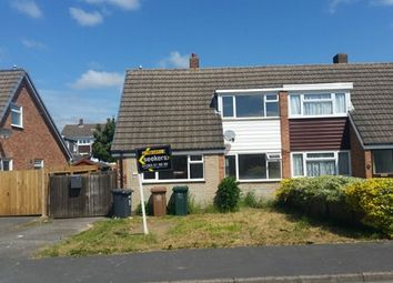 Thumbnail 2 bed semi-detached bungalow to rent in Farm Side East Staffordshire, Newhall