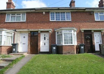 Thumbnail 2 bedroom terraced house for sale in Woodhouse Road, Quinton, Birmingham