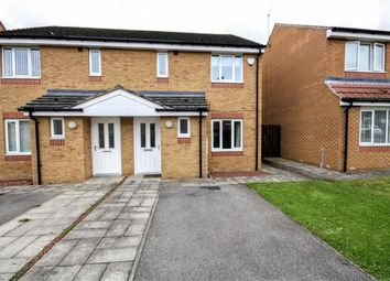Thumbnail 3 bed semi-detached house for sale in Dovecote Drive, Chester Le Street, County Durham