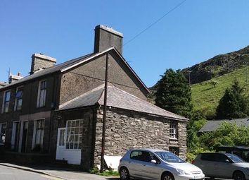 Thumbnail 3 bed end terrace house for sale in Manod Road, Blaenau Ffestiniog, Gwynedd