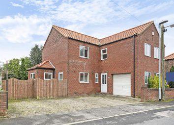 Thumbnail 4 bed detached house for sale in Rail Side, Station View, Cliffe, Selby